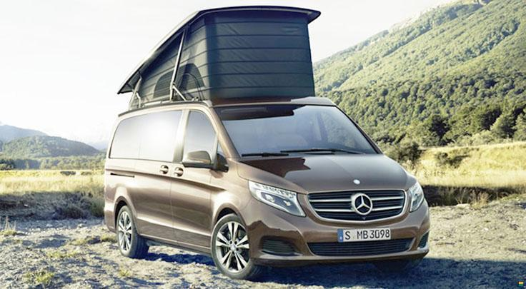 mercedes benz marco polo 250 d wohnmobil motorcaravan. Black Bedroom Furniture Sets. Home Design Ideas