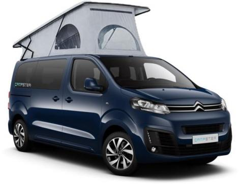 Campster 150 Modell 2018 Imperialblau