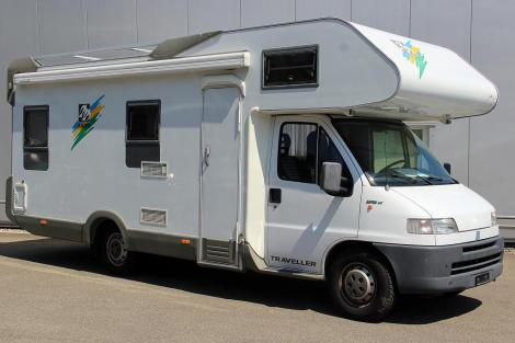 Knaus TRAVELLER 2,5 TDI 109 PS 5-GANG MECH.