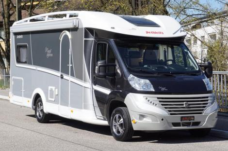 Dethleffs Magic Black Edition, Fiat Ducato 150PS