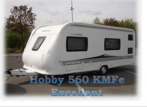 Hobby 560 KMFe Excellent