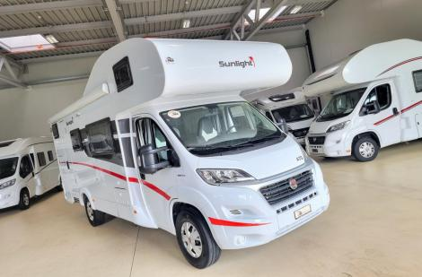 Sunlight A 72 Hymer-Gruppe, Fiat Ducato 130PS