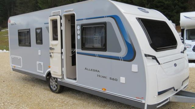 caravelair allegra home 560 wohnwagen caravan. Black Bedroom Furniture Sets. Home Design Ideas
