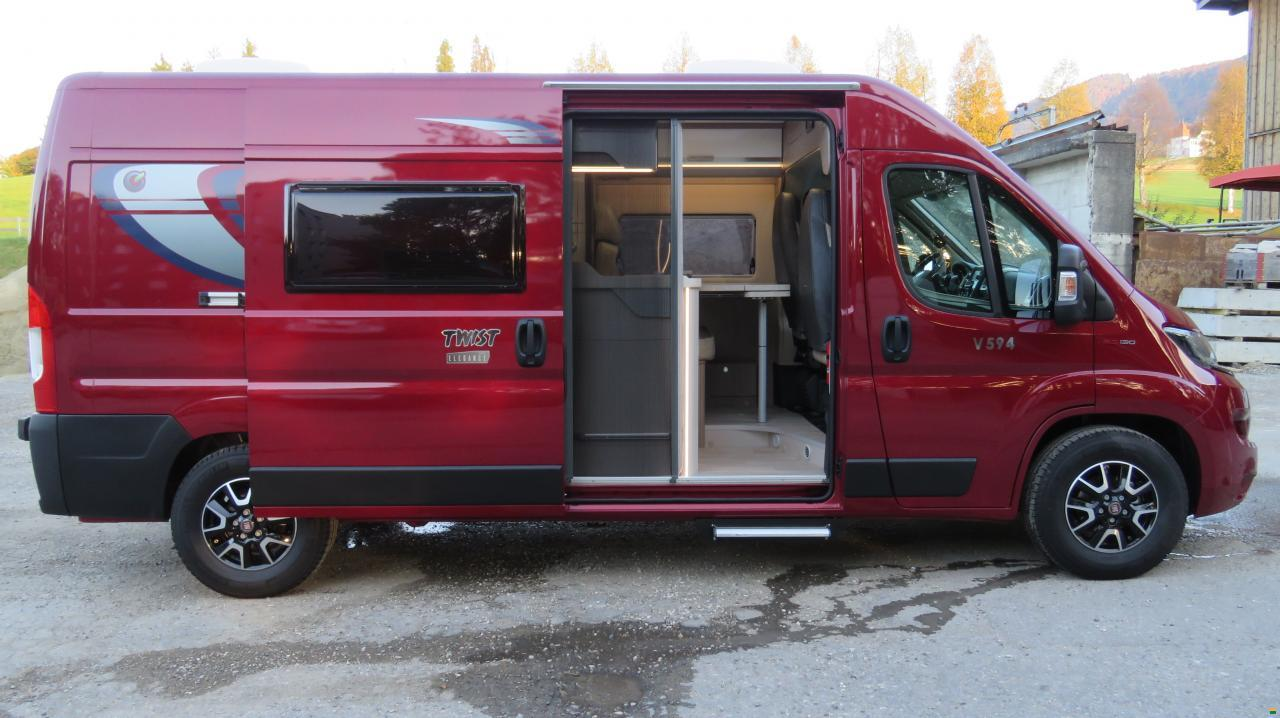 chausson twist v594 max wohnmobil motorcaravan. Black Bedroom Furniture Sets. Home Design Ideas
