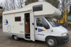 Fiat Ducato 15 Q Dinghy 2 SEA Alkoven